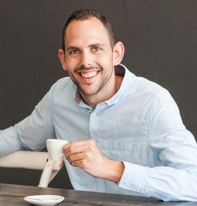 Rowan Isaacman, bedenker van de Caffenu Cleaning Capsule